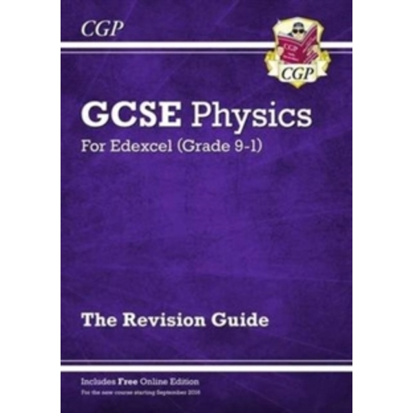 New Grade 9-1 GCSE Physics: Edexcel Revision Guide with Online Edition by CGP Books (Paperback, 2016)