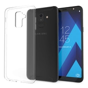 CASEFLEX SAMSUNG GALAXY A6 PLUS (2018) ULTRA THIN TPU GEL - CLEAR