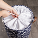 Laundry Basket with Drawstring Cover Large | M&W - Image 4