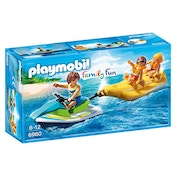Playmobil Family Fun Floating Personal Watercraft with Banana Boat