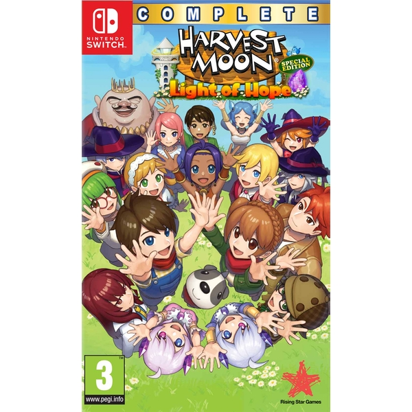 Harvest Moon Light of Hope Complete Special Edition Nintendo Switch Game - Image 1