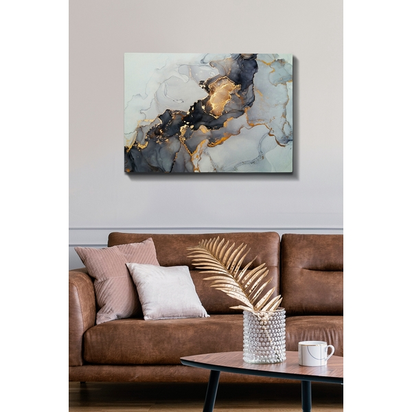 Multicolor Abstract Decorative Canvas Painting