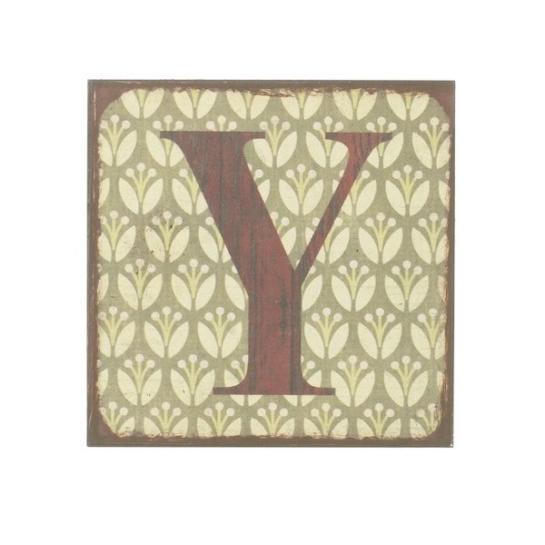 Letter Y Magnets by Heaven Sends