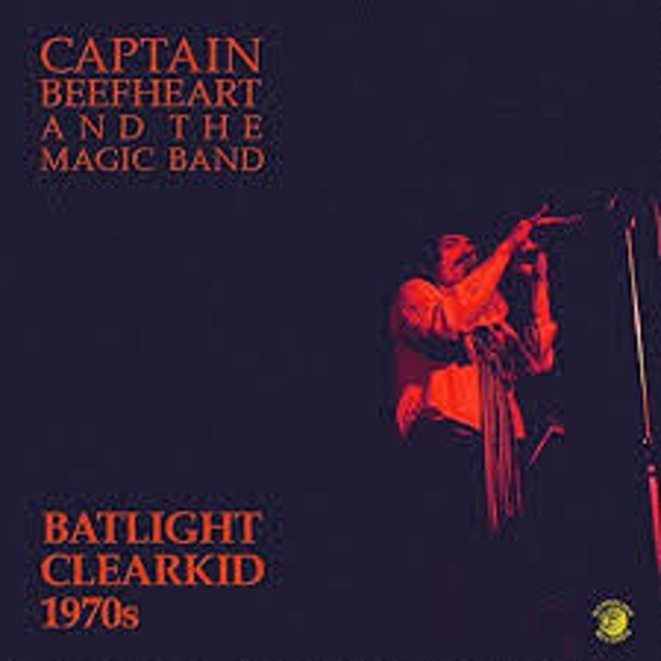 Captain Beefheart And The Magic Band ‎– Batlight Clearkid 1970s Dew Yellow Vinyl