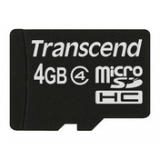 Transcend flash memory card 4 GB micro SDHC TS4GUSDC4