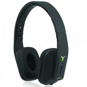 iT7x2 Foldable Wireless Bluetooth Headphones with Near Field Communication NFC Black