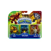 Bumble Blast, Knockout Terrafin, and Fiery Forge (Skylanders Swap Force) Battle Pack