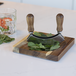 Hachoir Herb Cutter & Chopping Board | M&W - Image 11