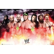 WWE Collage 2014 Maxi Poster