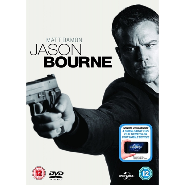 Jason Bourne DVD   Digital Download