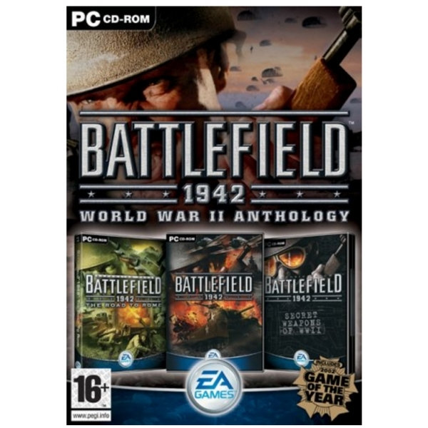Battlefield 1942 The WWII Anthology Game PC