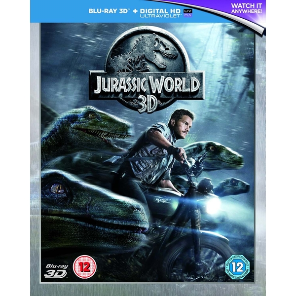 Jurassic World Blu-Ray 3D   Digital HD UV