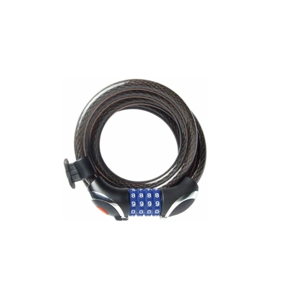 Sterling Combination Locking Cable with LED 12mm x 1.8m