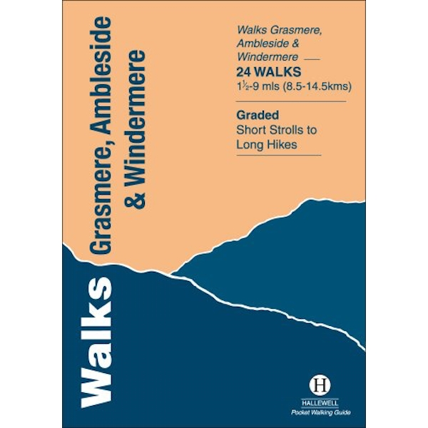 Walks Grasmere, Ambleside and Windermere by Richard Hallewell (Paperback, 1996)