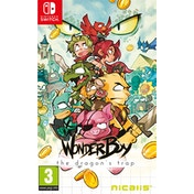Wonder Boy The Dragon's Trap Nintendo Switch Game (Inc Bonus Items)