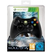 Official Elite Wireless Black Controller + Halo 4 Game Xbox 360