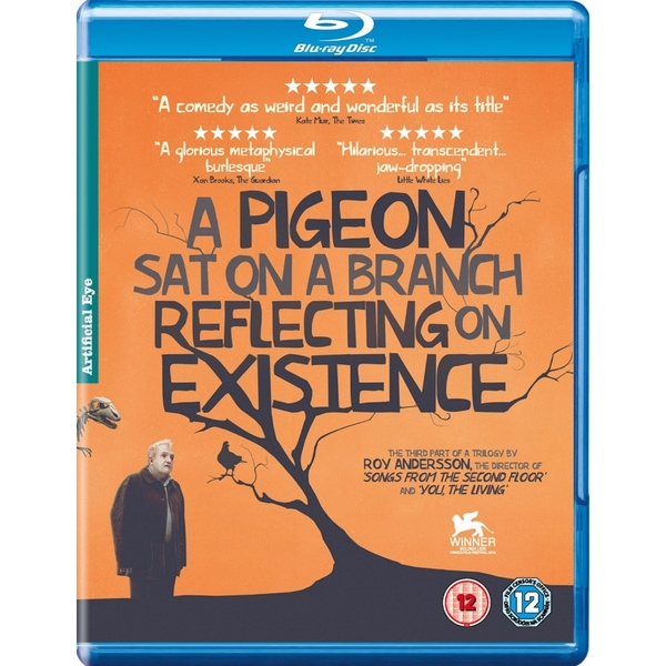 A Pigeon Sat On A Branch Reflecting Upon Existence Blu-ray
