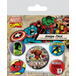 Marvel Retro - Iron Man Badge Pack - Image 2
