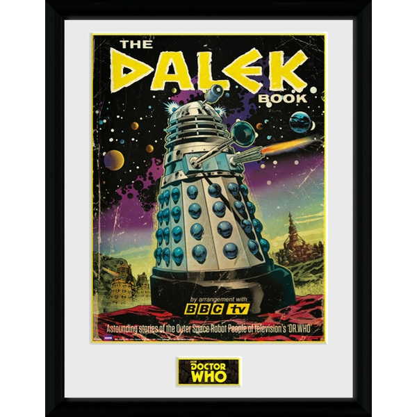 Doctor Who The Dalek Book Framed Collector Print