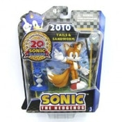 Sonic 20th Anniversary 2010 3 Inch Tails & Sandworm