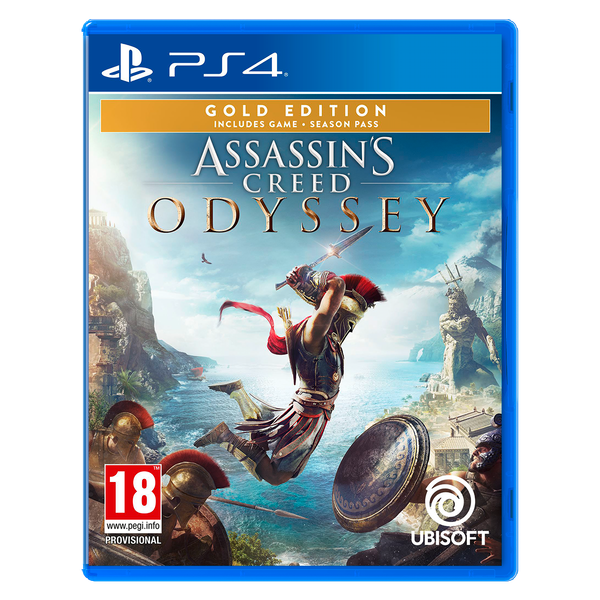 Assassin's Creed Odyssey Gold Edition PS4 Game ...