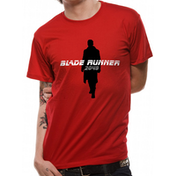 Blade Runner 2049 - Silhouette Men's Large T-Shirt - Red