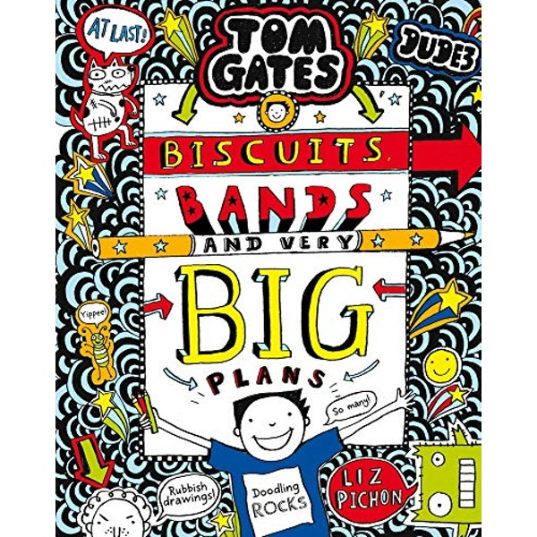 Tom Gates Biscuits Bands and Very Big Plans by Liz Pichon  (Paperback, 2019)
