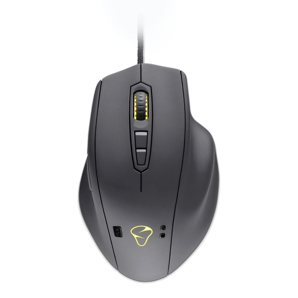 Mionix Naos Qg Optical Smart 12000Dpi Gaming Mouse with Built-In Memory and Customisable Leds Wired USB