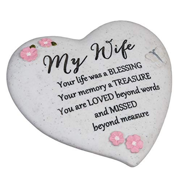 Thoughts Of You 'Wife' Graveside Heart