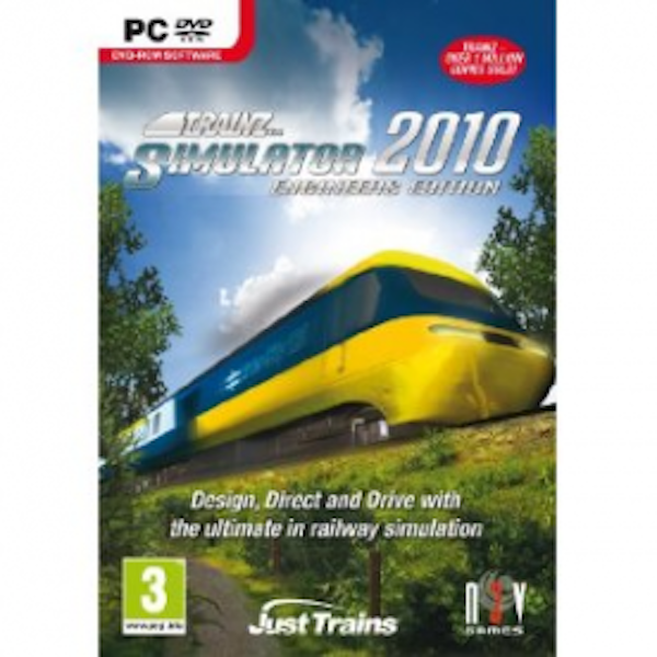 Trainz Simulator 2010 Engineers Edition Game PC