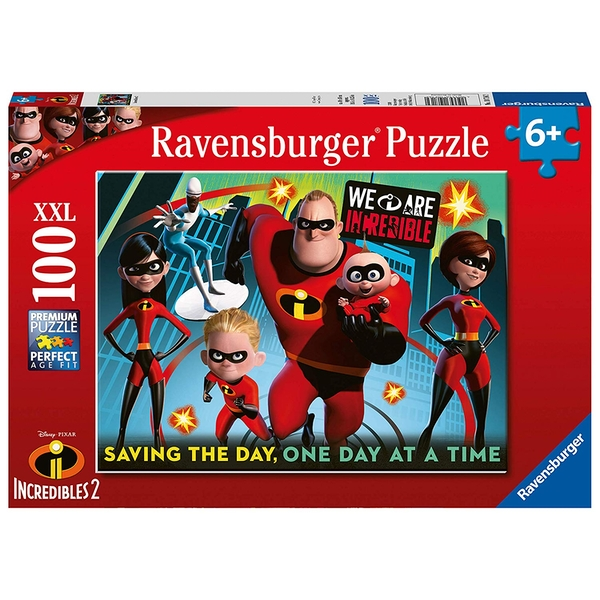 Ravensburger Disney Pixar The Incredibles 2 XXL 100 Piece Jigsaw Puzzle