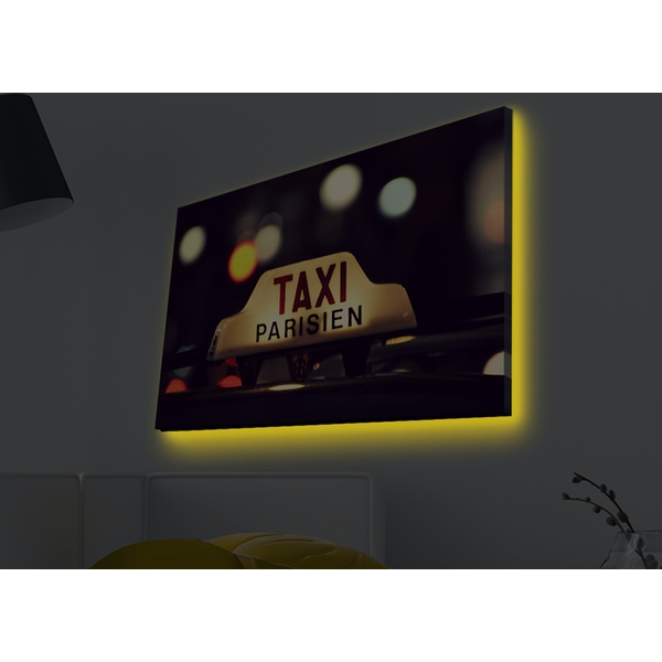 4570MDACT-024 Multicolor Decorative Led Lighted Canvas Painting