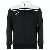 Sondico Precision Quarter Zip Sweatshirt Adult X Large Black/White