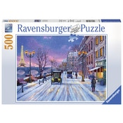 Ravensburger Winter in Paris 500 Piece Jigsaw Puzzle