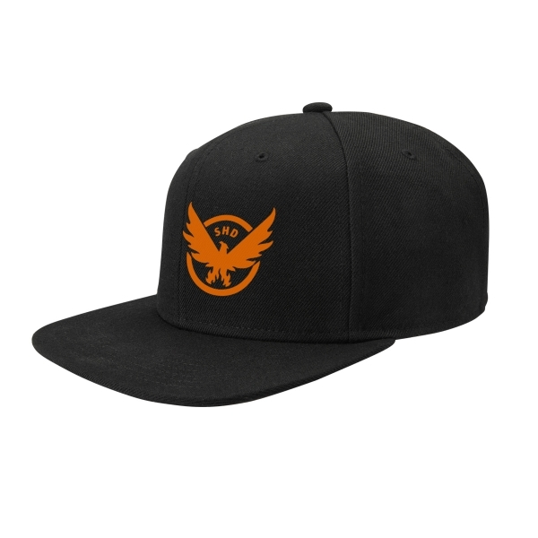 bf73bf3f816 Hey! Stay with us... Tom Clancy's The Division SHD Logo Snapback Cap - Black