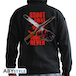 Ash Vs Evil Dead - Shoot First, Think Never Man Men's Medium Hoodie - Black - Image 2