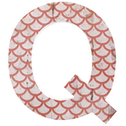 Letter Q Wall Plaque