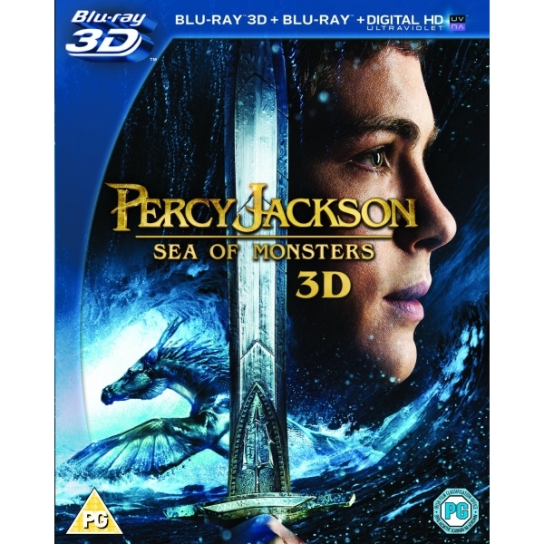 Percy Jackson Sea Of Monsters 3D Blu-ray