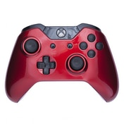 Crimson Red & Black Xbox One Controller