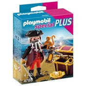 Playmobil Collectable Pirate with Treasure Chest