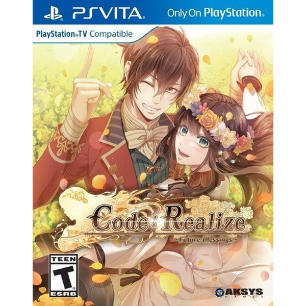 Code Realize Future Blessings PS Vita Game (#)