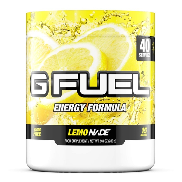 G Fuel Lemonade Tub (40 Servings) Elite Energy and Endurance Formula