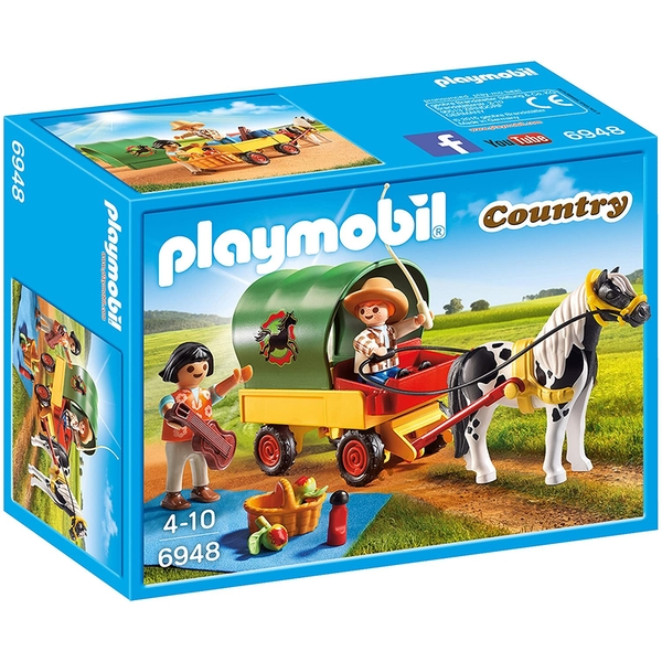 Playmobil Country Picnic with Pony Wagon