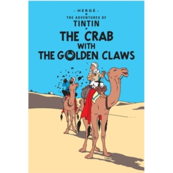 The Crab with the Golden Claws by Herge (Paperback, 2002)