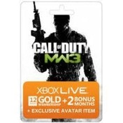 Xbox Live 12 Month + 2 Bonus Months Call Of Duty MW3 Gold Membership Xbox 360
