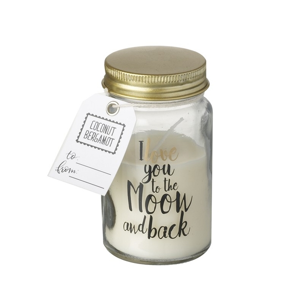 Moon & Back Love Scented Candle by Heaven Sends
