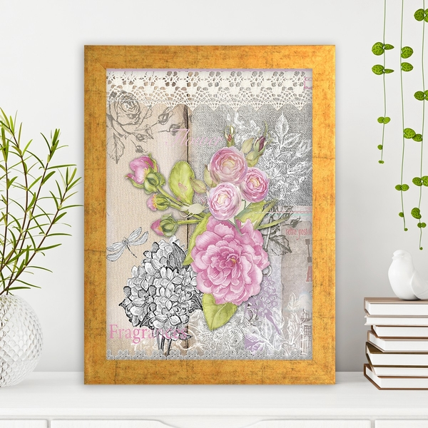 AC220108552 Multicolor Decorative Framed MDF Painting