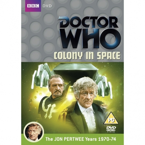 Doctor Who Colony in Space DVD