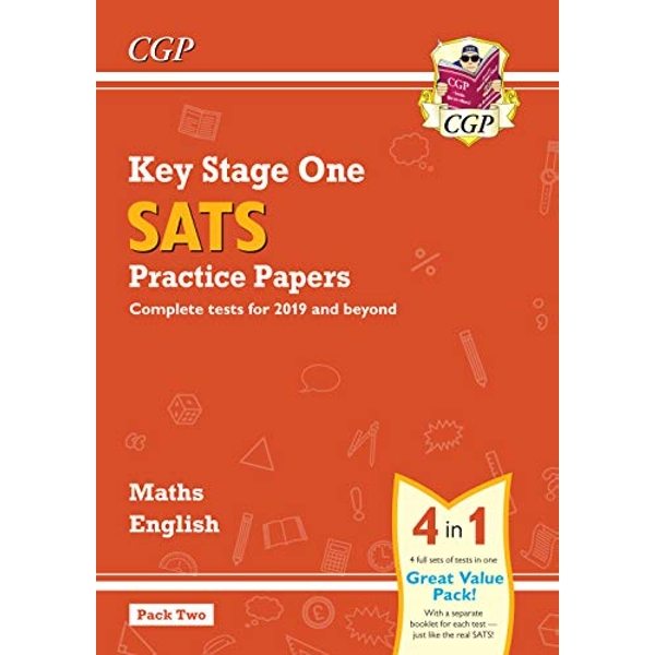New KS1 Maths and English SATS Practice Papers Pack (for the 2021 tests) - Pack 2  Paperback / softback 2018