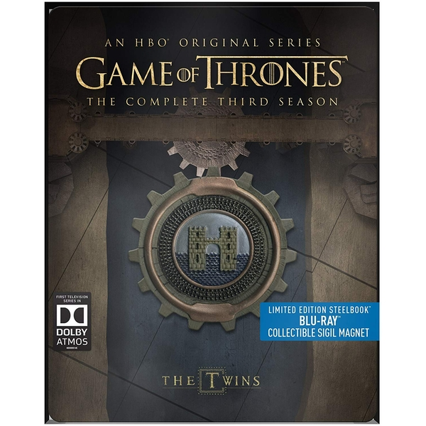 Game Of Thrones: Complete Third Season - Limited Edition Steelbook Blu-ray